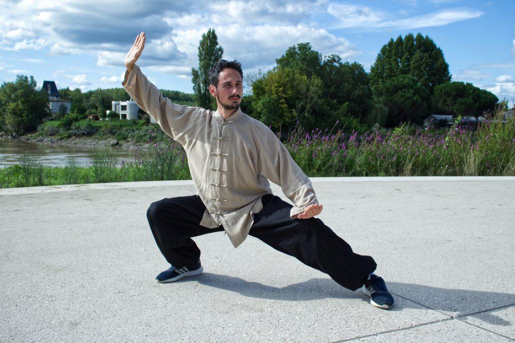 Guillaume Large professeur de tai-chi-chuan et qi gong en gironde
